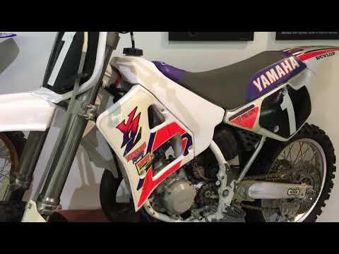Jeff Emig's First Professional Bike - 1992 YZ 125 Supercross Racer, Mike Larocco Honda