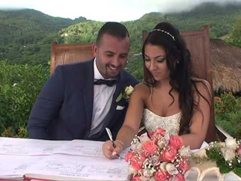 Vanessa and Firas Seychelles Wedding