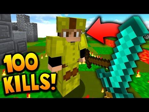 100 KILL CHALLENGE! | Minecraft MICRO BATTLES