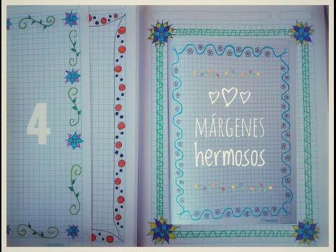 Los márgenes/Bordes mas preciosos para tu cuaderno 📚🌻- Shesira StarChic