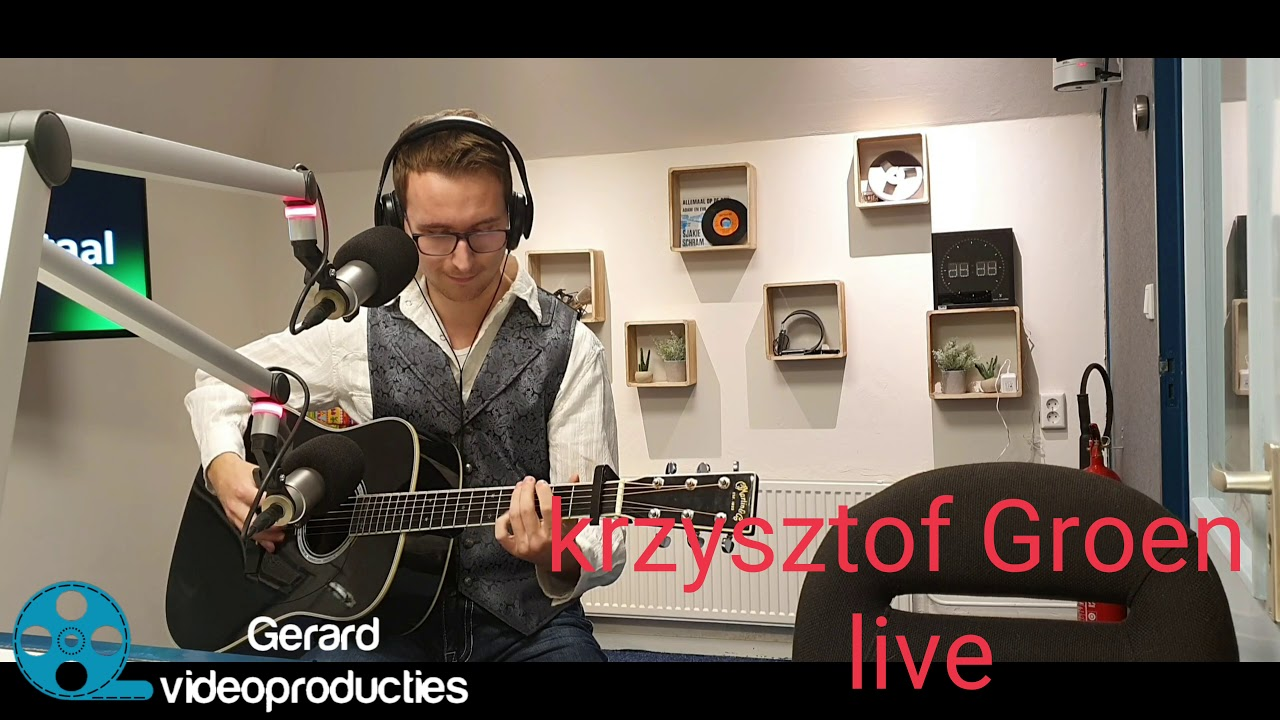 Download krzysztof Groen live bij streektoal