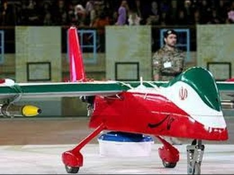 Iran revealed its new remotely piloted vehicle Drone Hamaseh