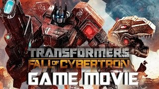Transformers: Fall Of Cybertron All Cutscenes (Game Movie) 1080p HD