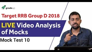 RRB Group D Video Analysis - Mock Test 10
