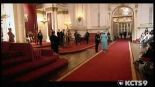 Queen Elizabeth investiture ceremony
