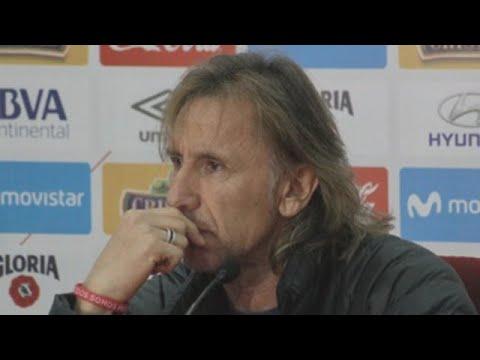 Gareca dice que se tomará un tiempo para decidir si sigue en Perú
