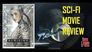 A.I. RISING ( 2018 Jessica 'STOYA' Stoyadinovich ) aka EDERLEZI RISING Sci-Fi Movie Review