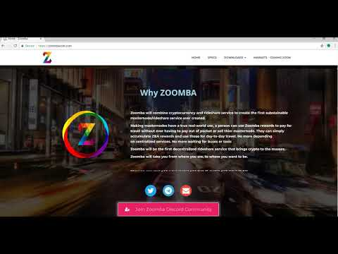 Zoomba Coin ICO Review - Blockchain Backed Ridesharing Service