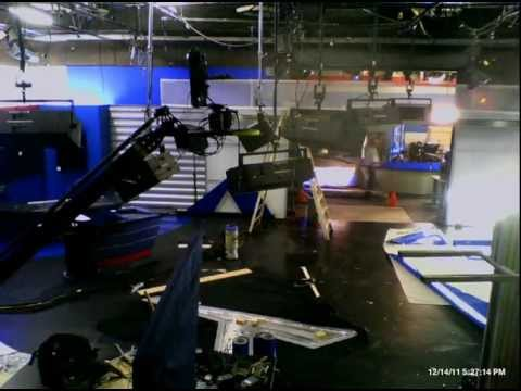 KTXL FOX40 News set time lapse