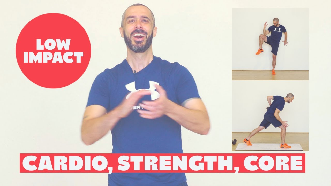 Gentle TOTAL BODY low impact beginner workout