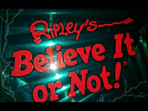 SOS live Investigation at Ripleys Believe it or Not Museum