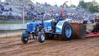 V8 Modified Tractors at Harrisonburg June 14 2019