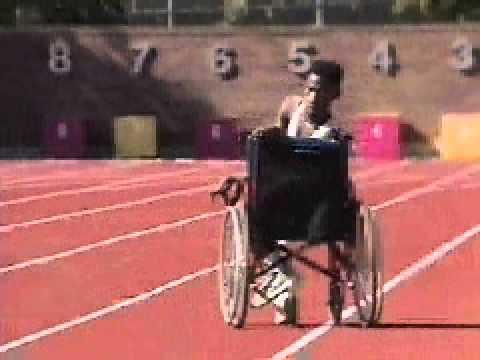 Microsoft Encarta video clip - Special Olympics