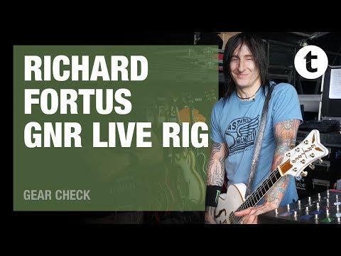 Guns N' Roses | Richard Fortus | Live Rig |Thomann