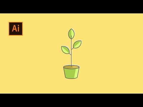 Simple Tricks to Make Flat Line Design | Adobe Illustrator Tutorial thumbnail