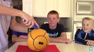 What's inside a Tetherball?