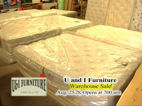 U And I Furniture Warehouse Sale Youtube