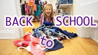 Back to School Shop Till You DROP