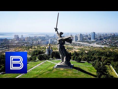 "Massive Restoration Underway! Iconic ""Motherland Calls"" Monument in Volgograd Being Repaired!"