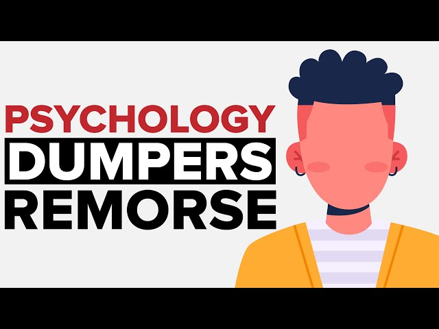 The Psychology Behind Dumpers Remorse Get Your Ex Back Youtube