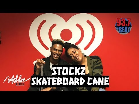 Ashlee - STOCKZ on 'SKATEBOARD CANE' & Moving out of Houston for Career Success