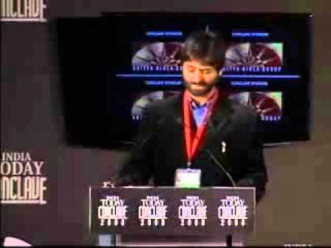Yasin Malik speech at India Today Conclave 2008