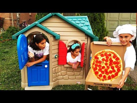 في مقهى مجموعة من مقاطع الفيديو للأطفال / العاب طبخ و للأطفال Heidi و Zidane