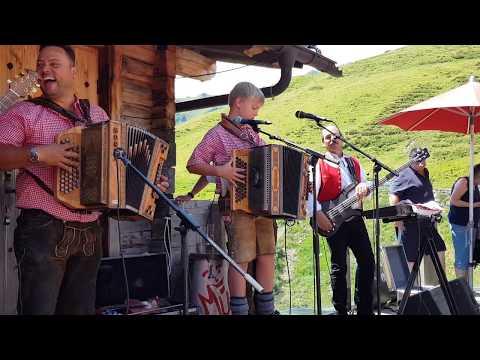 Tiroler Buam Polka Ursprung Buam mit kleinem Franz und Zellberg Buam