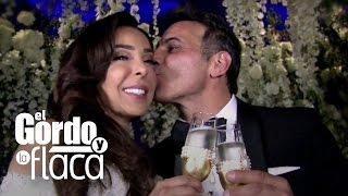 Conoce lo que más le impresionó a Raúl y a Lili en la boda de Gelena y Steve
