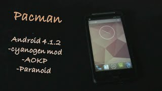 Android 4.1.2 Jellybean  for Desire HD , S & Inspire 4G-Pacman  - Cyanogenmod Aokp and Paranoid