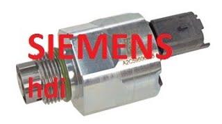Регулятор давления топлива Сименс