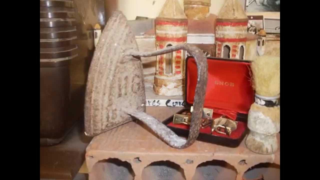 Cosas y objetos antiguos youtube for Compra de objetos antiguos