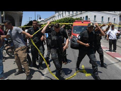 TUNISIE : 8 blessés et un mort dans l'attentat suicide