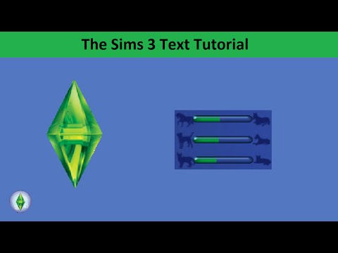 The Sims 3 Text Tutorial: Pet Aging