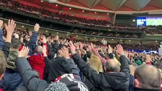 Atletico Madrid - Borussia Dortmund FRENTE ATLETICO