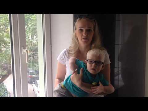 История лечения Никиты Анкина. Годовалый альбинос с нистагмом