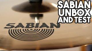 Sabian AAX AAXplosion Crash & Stadium Ride - Unbox & Quick Test