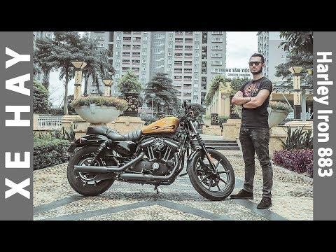 nhận xét xe Harley Davidson Iron 883 giá 479 triệu |XEHAY.VN|
