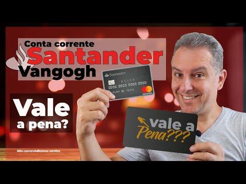 8a1e82edfd Conta Corrente Santander VanGogh. CARTÃO DE CRÉDITO ALTA RENDA - YouTube