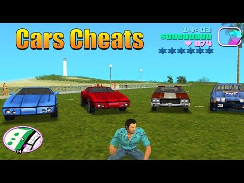 GTA Vice City Cars Cheats (All Cars Cheat Codes)