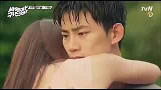 Tuhi meri duniya jahan ve// nice love story video// korean mix hindi song