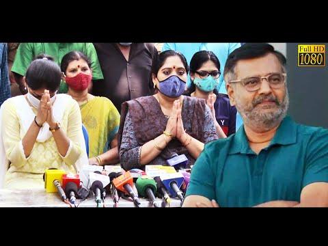 கண்கலங்கி நன்றி தெரிவித்த நடிகர் vivek-கின் குடும்பம் | Vivek Family Press Meet | HD