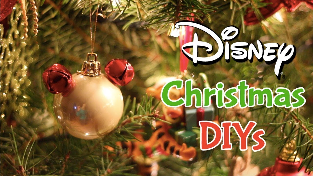 disney christmas diys gifts decorations accessories - Disney Christmas Decor