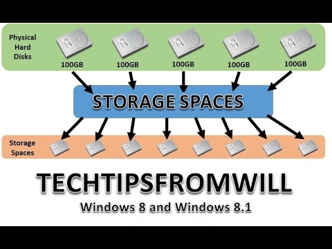 Storage Spaces in Windows 8 and Windows 8.1