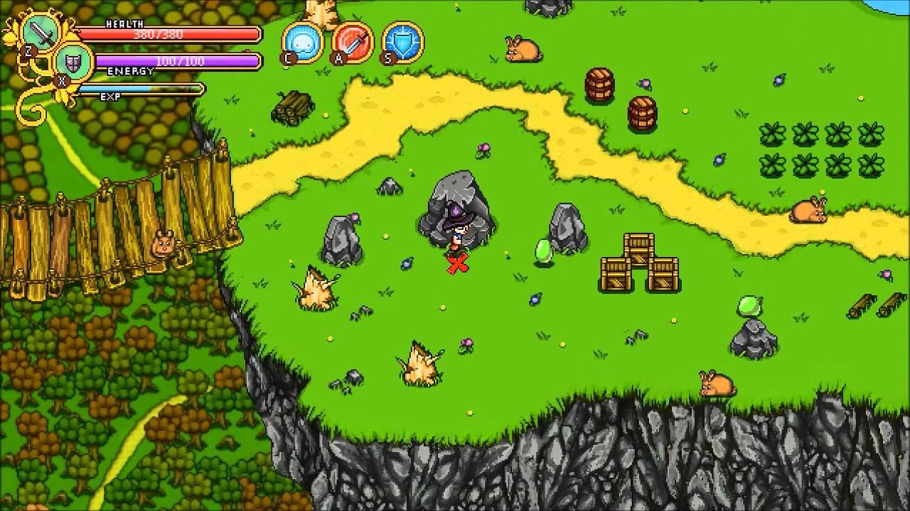 Secrets Of Grindea - All Treasure Maps #1-8 on