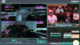 Awesome Games Done Quick 2015 - Part 162 - Halo 2 by Monopoli and Ruudyt