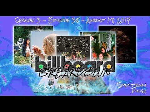 Billboard BREAKDOWN - Hot 100 - August 19, 2017