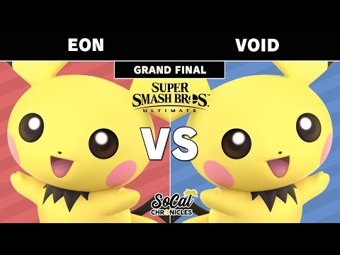 Smash Ultimate Tournament - CLG | VoiD (Pichu) Vs. Eon (Pichu) Grand Finals - SoCal Chronicles