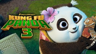 Secret Panda Village Revealed | KUNG FU PANDA 3