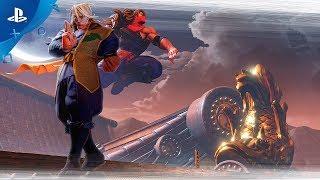 Street Fighter V - Zeku Reveal Trailer | PS4